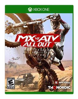Mx Vs Atv All Out Xbox One Nuevo