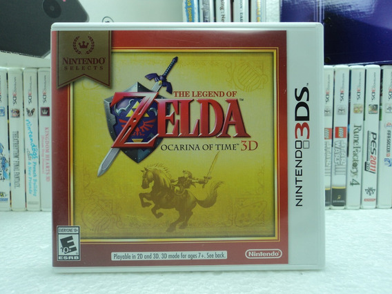 The Legend Of Zelda Ocarina Of Time 3d - 12x Sem Juros!!!