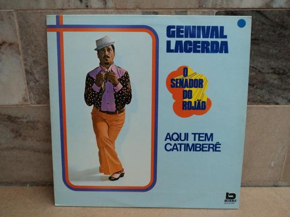 Genival Lacerda-1975-aqui Tem Catimbere-lp Vinil