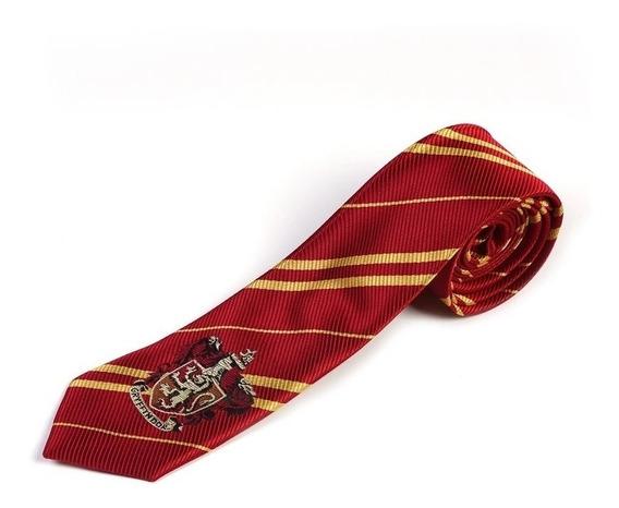 Corbata Bordada Gryffindor Slytherin Harry Potter Howarts