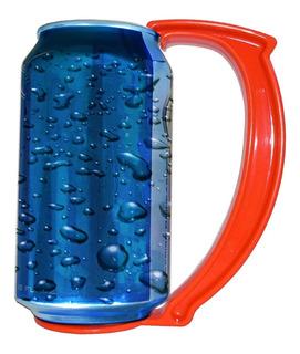 Can Grip Agarradera Sujeta Latas De Plastico Cerveza Colores