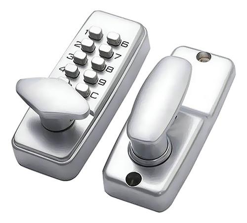 Elegante Botón Pulsador Mecánico Con Combinación Digital