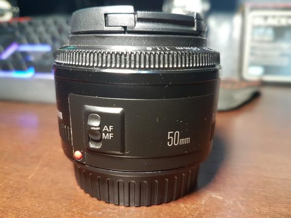 Lente Canon 50mm 1.8 Mk1