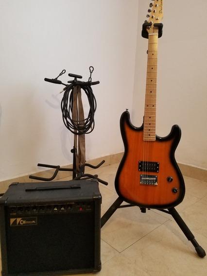 Paquetazo Ampli Charvel/jackson Y Guitarra Davison Strato