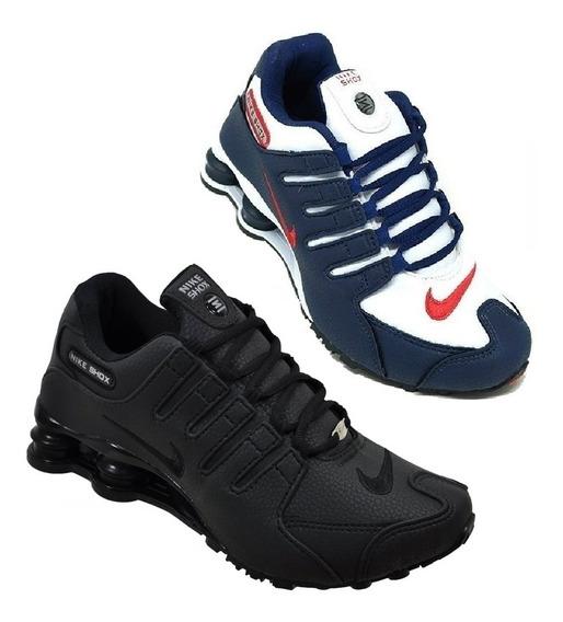 Tênis Nike Sxhox Nz 4 Molas Novo Na Caixa Original Promoção Queima De Estoque Pague 1 Leve 2 Kit Com 2 Pares Envio 24h