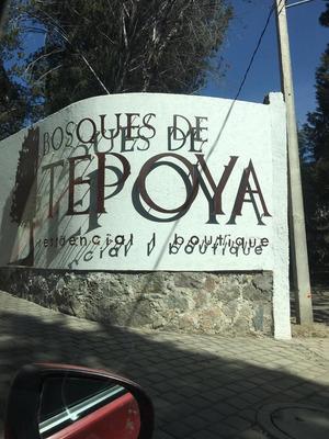 Terreno En Venta Bosques Tepoya.