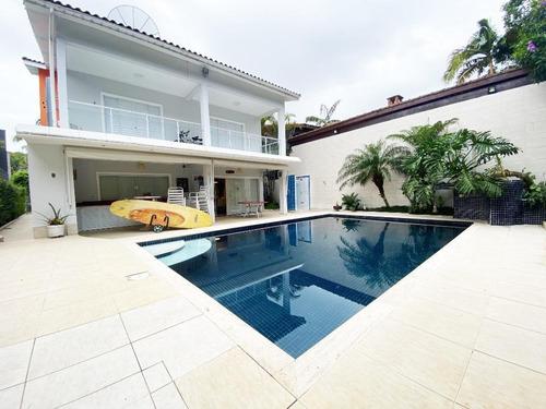 Casa Com 5 Dormitórios À Venda, 472 M² - Riviera De São Lourenço - Bertioga/sp - Ca3406