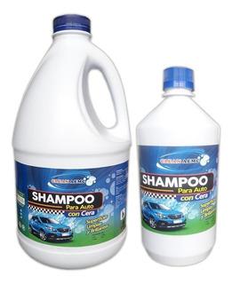 Shampoo Para Autos Con Cera - Galon