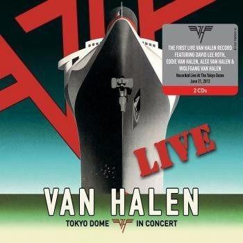 Van Halen Tokyo Dome In Concert 2 Cd David Lee Roth