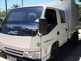 Camion Jmc Doble Cabina Impecable Transporte Profecional