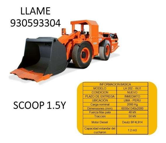 Venta De Scoop Minero En Peru Modelo Lh202