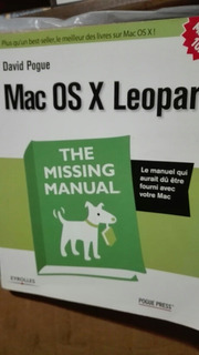 Mac Os X Leopard The Missing Manual David Pogue Pogue Press