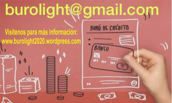 Buro Credto Limpio Arreglar Registro Historial Deudas Tach