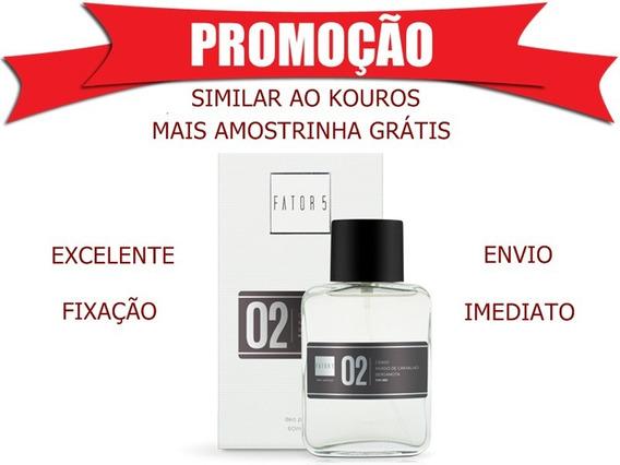 Perfume Fator 5 Nº 02 - Fator 5 Cosméticos Similar Ao Kouros