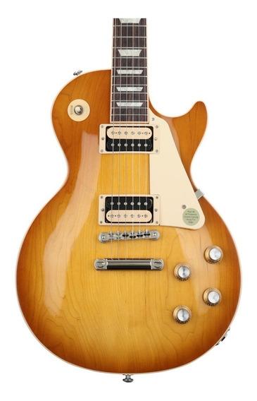 Guitarra Gibson Les Paul Classic 2019 Honeyburst C/ Nf-e