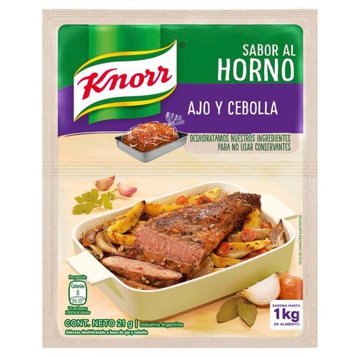 Bolsa para horno Knorr Cebolla y Ajo en bolsa 21g