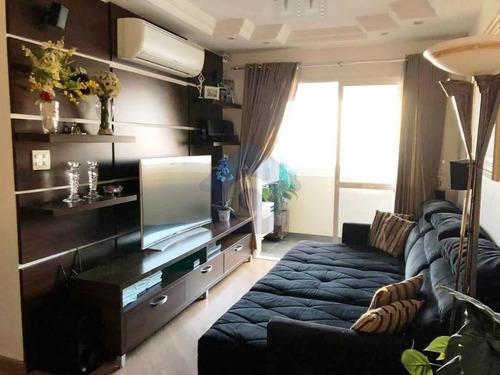 Imagem 1 de 15 de Lindo Apartamento Com 3 Dormitórios, 2 Vagas, Varanda Próximo Ao Metrô Alto Do Ipiranga - Tw15707