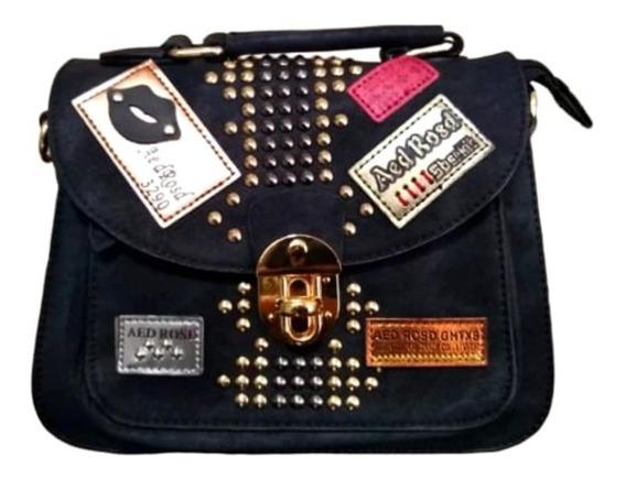 Bolsa Feminina Importada Pequena Bag Nude Aplicações