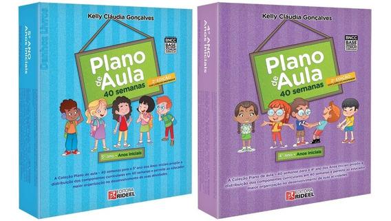 Coleção Plano De Aula 40 Semanas - 4º + 5º Ano - Pedagógico