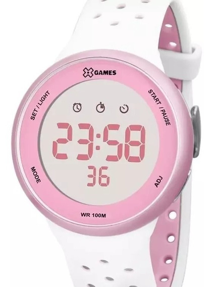Relógio X-games Feminino Digital Rosa - Xfppd040 Bxbr
