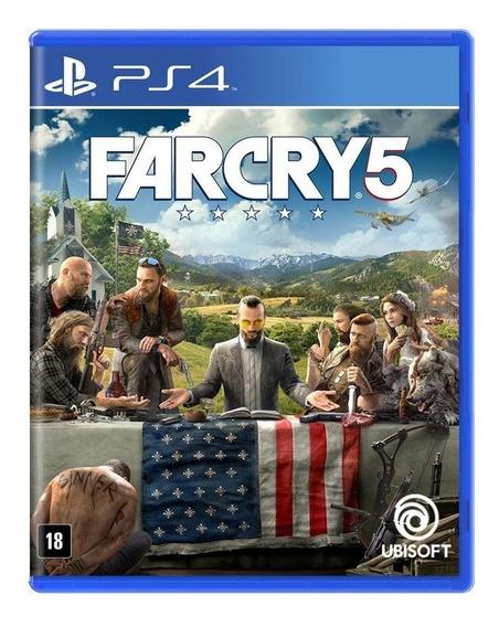 Far Cry 5 Ps4 Mídia Física Pronta Entrega Em Português Novo