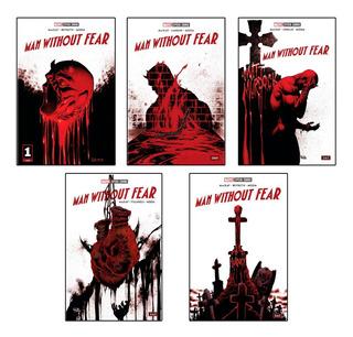 [español] Marvel Semanal: Man Without Fear #1, 2, 3, 4, 5