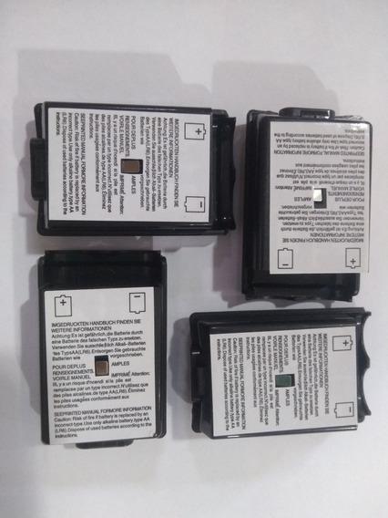 12 Caixa Pilha Do Controle Xbox 360 Preta 100% Nova!!!