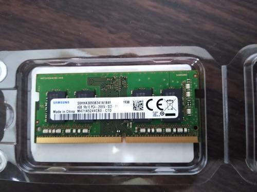 Memória Ram Para Notebook Samsung Ddr4 4 Gb  2666 Mhz