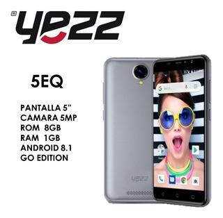 Teléfono Celular Android, Yezz 5q Dual Sim, Liberado (65)