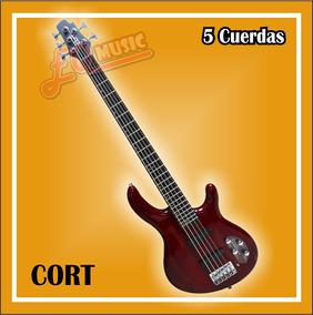 Bajo Cort 5 Cuerdas Activo Action Bass Nuevos De Paquete