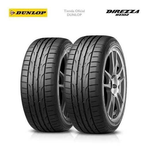 Kit X2 Cubiertas 245/45r17 (95w) Dunlop Direzza Dz102