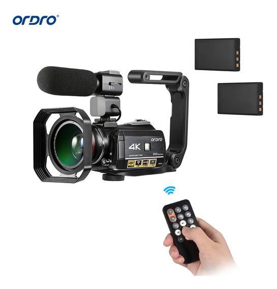 Videocámara Digital Ordro Ac3, 4k, Con Wifi, Grabadora De Dv