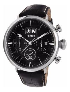 Reloj Hombre Feraud Lf10012 Vintage Agente Oficial + Regalo