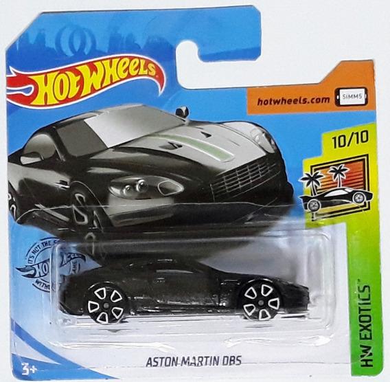 Hot Wheels - Hw Exotics - Aston Martin Dbs (cartela Curta)