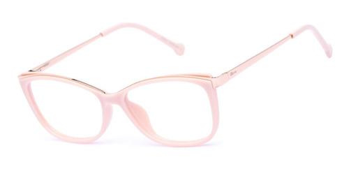 Armação Oculos Ogrife Og 989-c Feminino Com Lente Sem Grau