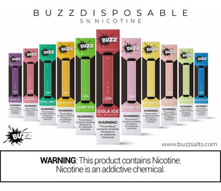 Buzz Pods Puff Bar 5% Vape Desechable 10 Piezas