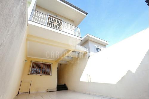 Imagem 1 de 15 de Sobrado Residencial - 155mts² - 3 Dormitórios (1suite) - 4 Vagas - Closet - Cf64454