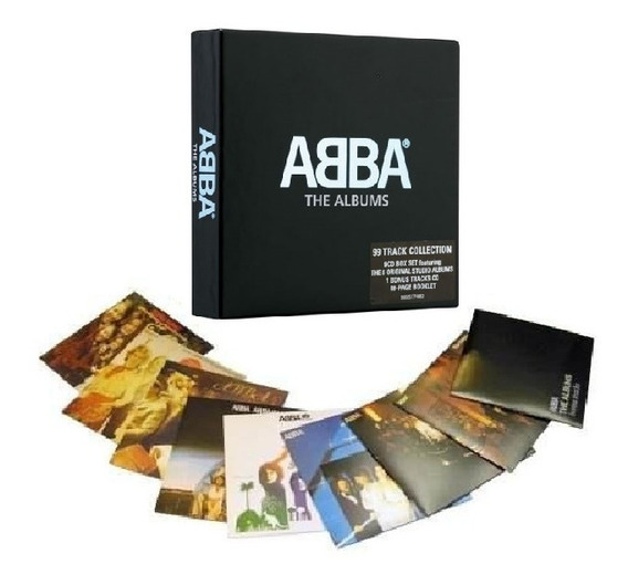 Abba - The Albums [9cd] Boxset Importado Lacrado