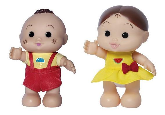 Bonecas Cascão E Magali Turma Da Mônica Iti Malia Baby Brink