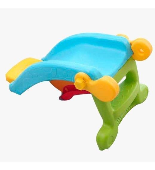 Playground Infantil Escorregador E Gangorra Brinquedo 2em1