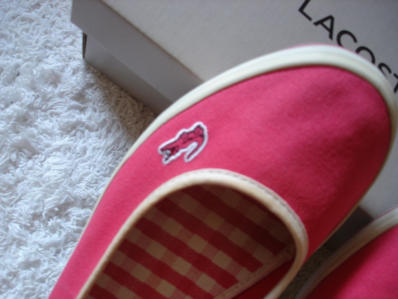 Zapatillas Chatitas Balerinas Lacoste Mujer Marthe 7