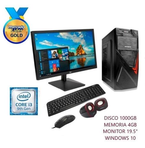 Computadora Intel Core I3 3.6 9na 1tb 4gb Led 20 Cpu, I5/i7