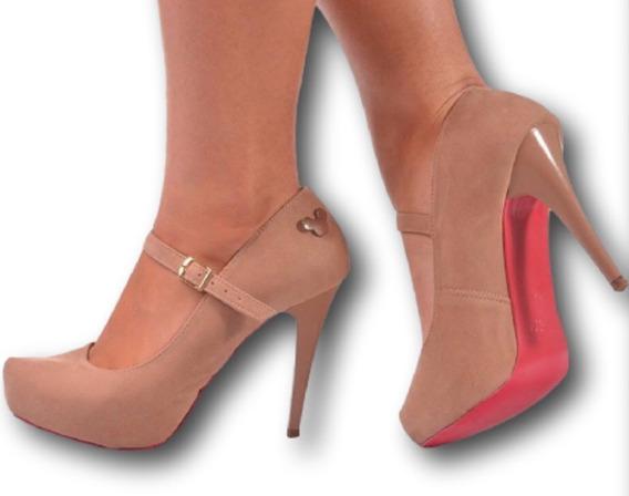 Lindo Sapato Feminino Salto Alto - Estilo Importado M22