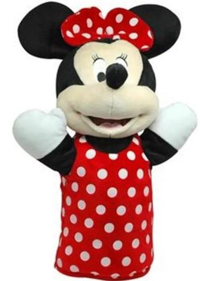 Fantoche De Pelúcia Minnie 28cm Indicado Para 4 Anos Br935