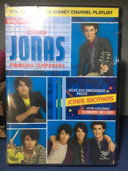 Jonas - Primeira Temporada- Dvd Original - Rf15
