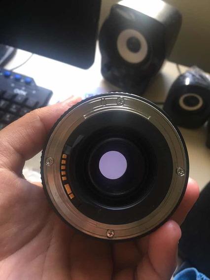 Lente Canon75-300mm F4-5.6 IiiUsada, Porém Conservada.