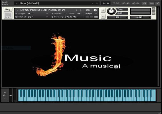 Dyno Piano Korg 01w Um Super Vst