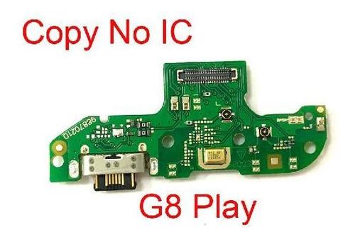 Flex Tarjeta Carga Microfono Motorola Moto G8 Play