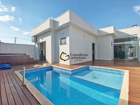 Casa Com 3 Dormitórios À Venda, 180 M² Por R$ 650.000 - Condomínio Campos Do Conde Ii - Paulínia/sp - Ca0611