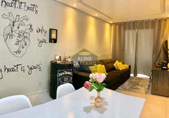 Apartamento Com 2 Dorms, Canto Do Forte, Praia Grande - R$ 200 Mil, Cod: Ac4027 - Vac4027